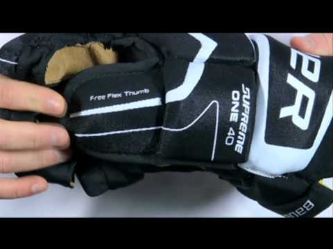 Bauer Supreme ONE40 Hockey Gloves - Features & Benefits