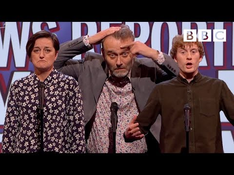 Things a news reporter would never say - Mock the Week - BBC Two