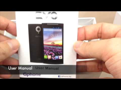 Unboxing Gphone EVO Octa-core Android Smartphone