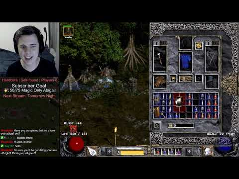 Diablo 2 Rares Only Character: Almost Fully Geared (Rare Abigail #02)