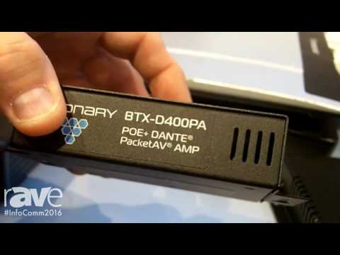 InfoComm 2016: BTX Technologies and Visionary Solutions Shows IPTV and Video over IP