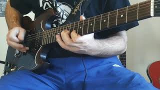 ☠ Moderat Likvidation - Marionett i Kedjor (Xmandre Guitar Cover) HD HQ (Hardcore Punk)