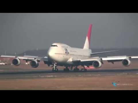 """"""" 懐かしき機体 JAL 最後の747 """" Japan Airlines(JAL) Boeing747-400D JA8084"""