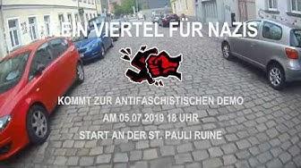"""Mobifilm zur Demo """"Kein Viertel für Nazis"""" am 05.07.2019 in Dresden"""