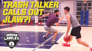 TRASH TALKER CALLS OUT JORDAN LAWLEY?! | Intense game of 1v1