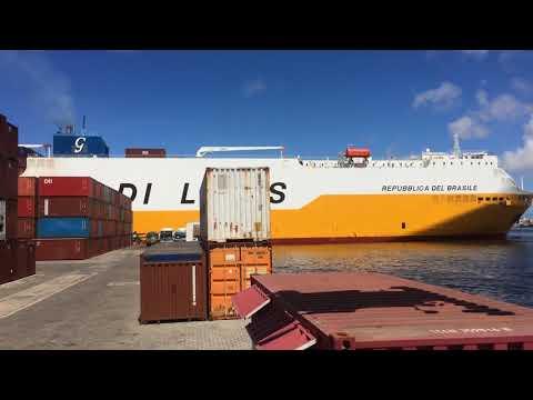 Sortie Navire au Port de Dakar
