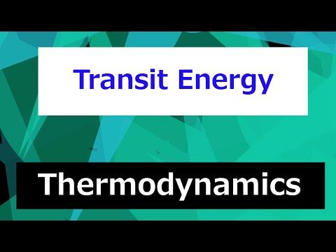 Transit Energy // Thermodynamics - Class 32