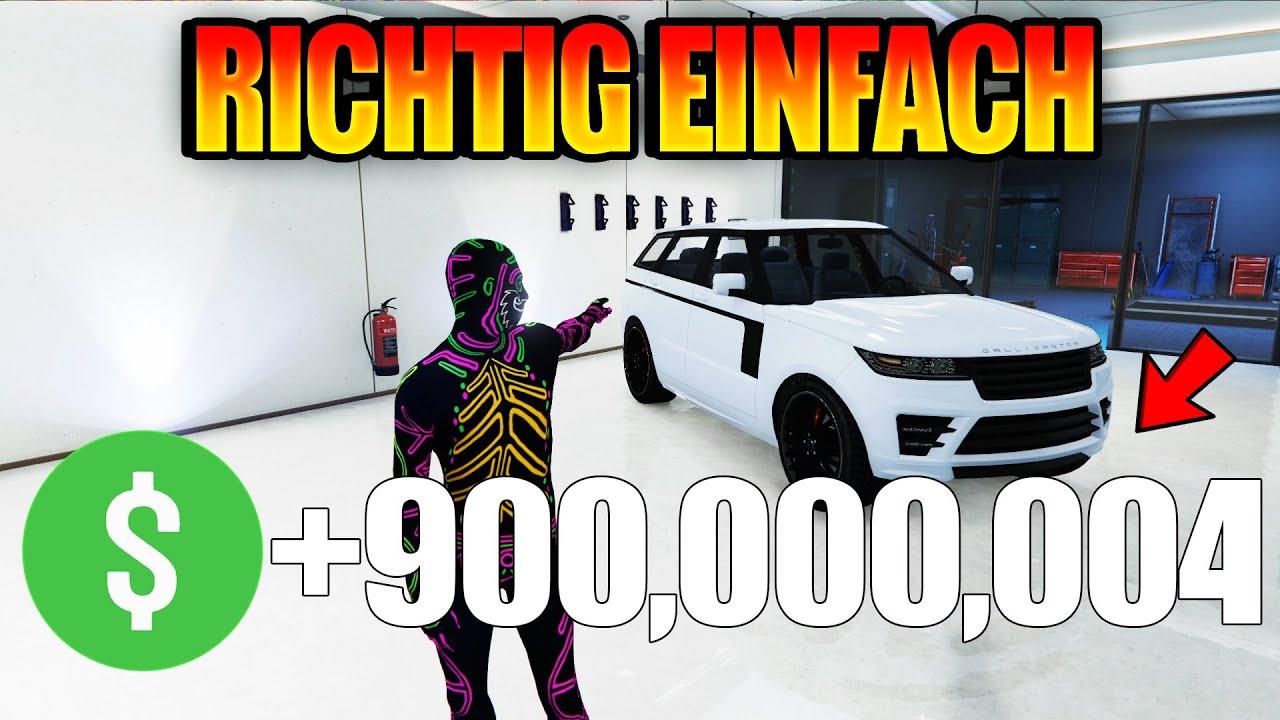 $10,000,000 IN 1 MINUTE BEKOMMEN (OHNE ALLES) ?! 😱 Solo GTA V Money Glitch Deutsch