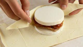 Hojaldre de queso relleno