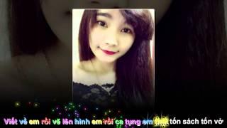 Chân Ngắn-Cẩm Vân Phạm ft. TMT [video lyric karaoke aegisub]