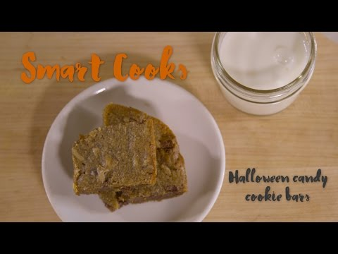 Halloween candy cookie bars | Smart Cooks Recipe