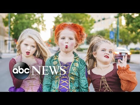 Valentine In The Morning - Sisters Dress Up As The Sanderson Sisters From Hocus Pocus!