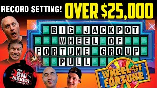 🔴 Live Worlds Largest Group Pull $25000 Wheel of Fortune 🎰 $100 Per Pull  🔴 | The Big Jackpot