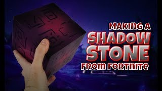 Making a Shadow Stone from Fortnite