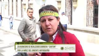 """En Rionegro se realizará carrera """"Cartun"""" por la niñez del Oriente Antioqueño"""