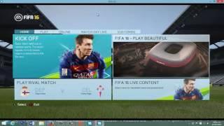 Como Jugar con Parche Moddingway en FIFA 16 no Original