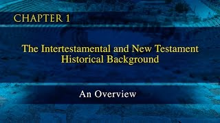 A Survey of the New Testament Video Lectures - Chapter 1: Robert H. Gundry