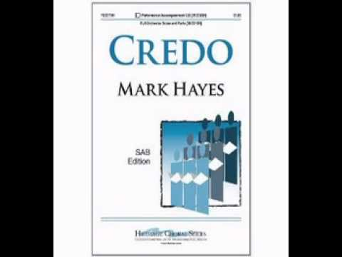 Credo - Mark Hayes