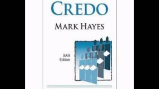 Credo - Mark Hayes