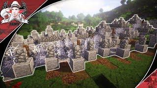 Minecraft: WW2 Dragon's Teeth Version #1 | Fortification Tutorial