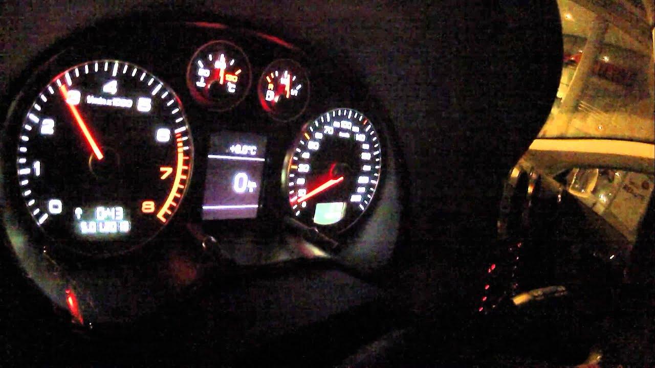 Audi A3 8P 1 8 TFSI 0 100 Acceleration Wet Street