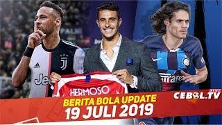 Ayah Neymar Temui pihak Juve 🔴 Mario Hermoso Resmi Ke Atletico 🔴 Inter Milan Incar cavani