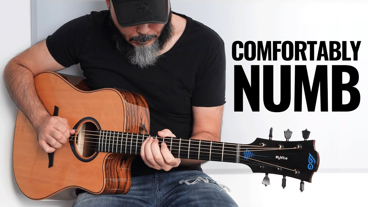 Kfir Ochaion plays Pink Floyd's Comfortably Numb - on a HyVibe Smart Guitar