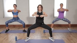 30-Minute Selena Gomez Workout For Flat Abs and Toned Legs | Class FitSugar
