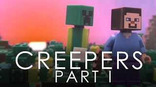 Lego Minecraft: Creepers Pt 1 [4K]