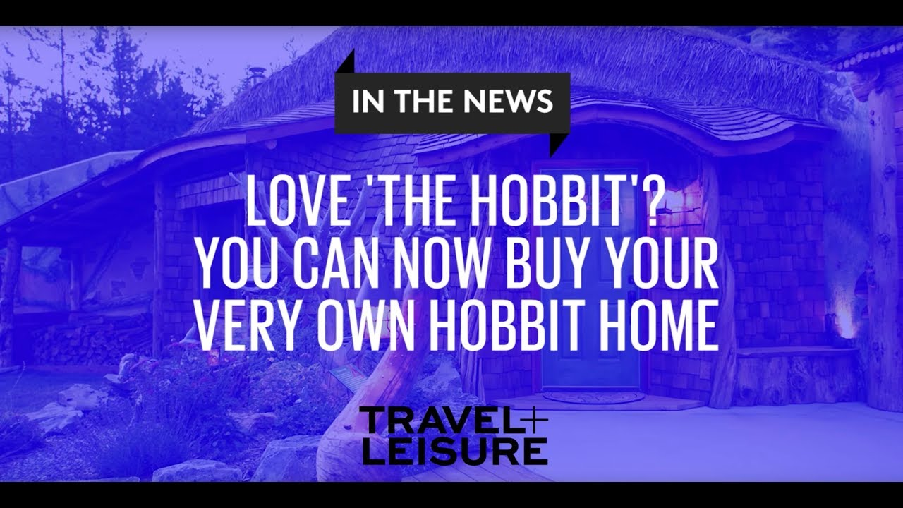 Images Of Hobbit Houses Interesting This Hobbit House Is For Sale  Travel  Leisure  Youtube 2017