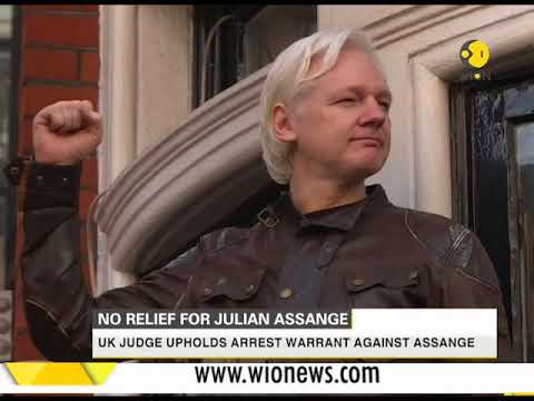 UK judge upholds arrest warrant against Julian Assange