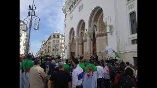 شاهد.. بدء فعاليات الجمعة الـ13 في الجزائر والأمن يمنع من الاحتشاد داخل مبنى البريد المركزي