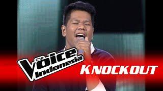 "Daniel Pattinama ""Pelangi"" | Knockout | The Voice Indonesia 2016"