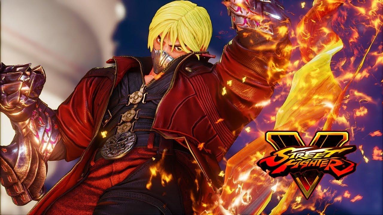 Street Fighter 5 Ken Dmc Costume Alternate Youtube