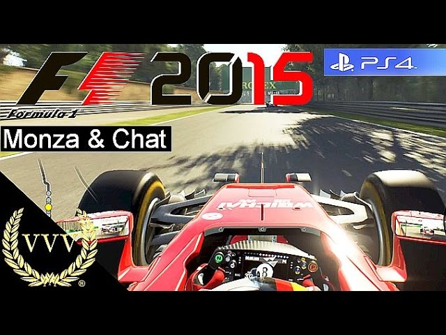 F1 2015 Monza and Chat PS4 Gameplay