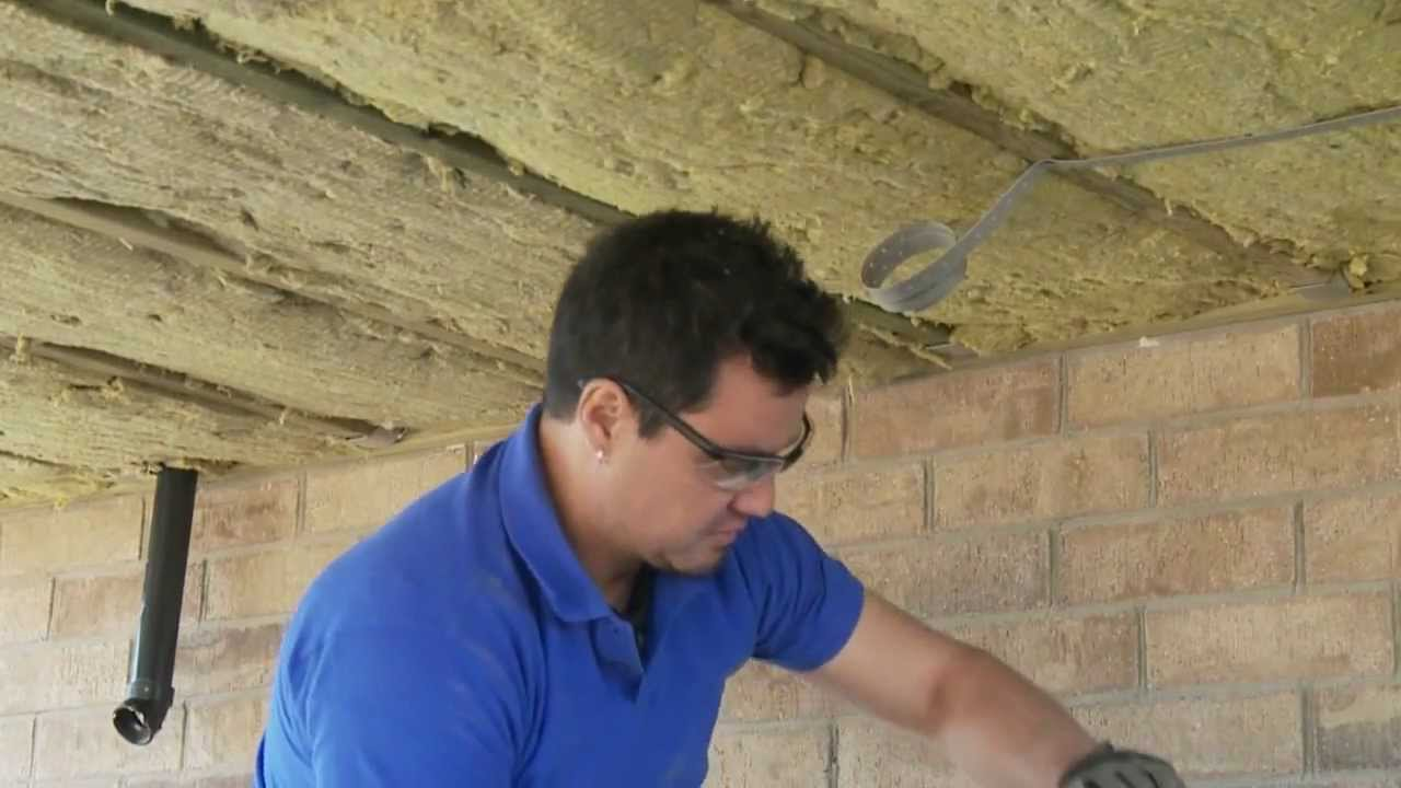 Superior Insulating A Floor Over An Unheated Space   YouTube