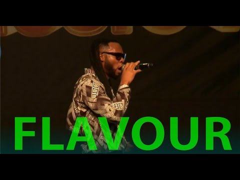 FLAVOUR LATEST LIVE PERFORMANCE | GloMega Music Lagos 2017