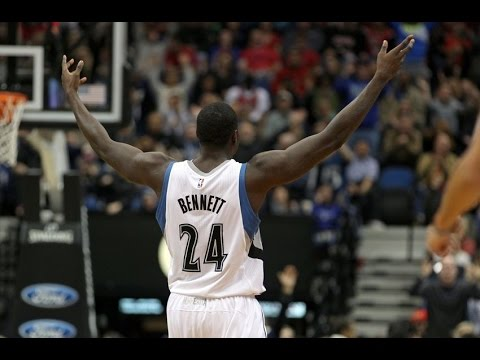 Anthony Bennett Wolves 2015 Season Highlights