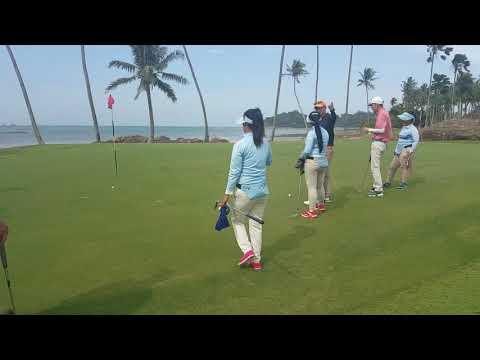 Palm spring golf course.