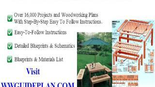 Free wood hall tree plans