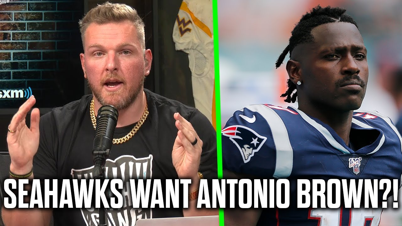 Pat McAfee Reacts To The Seahawks Looking Into Antonio Brown