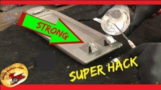 How to Glue Repair Difficult Plastic Parts