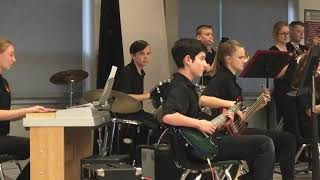 Northridge May 2018 jazz band 1