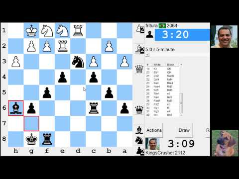 LIVE Blitz #2630 (Speed) Chess Game: Black vs fritura in Queen's pawn: London system
