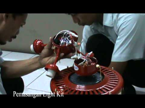 Pemasangan Ceiling Fan Ceiling Fan Installation Youtube