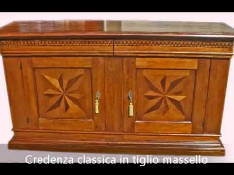 Credenza Arte Povera Antica : Credenza credenze basse artigianali intarsiate classiche arte povera