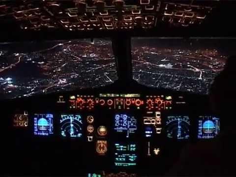 Cockpit flight Paris (CDG) - Thessaloniki (SKG) Cyprus Airways A319 pt3 (eng. sub)