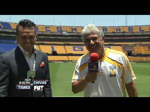 'Tuca' Ferretti manda saludar al Dr. García y Martinoli