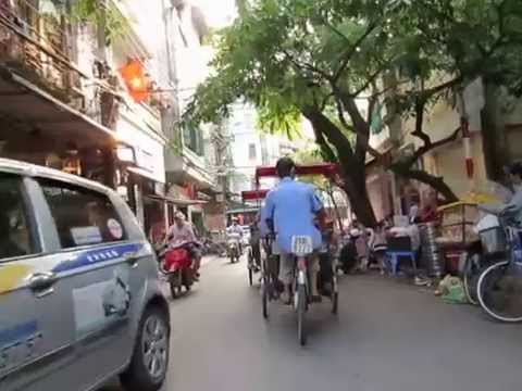 Street ride in Hanoi