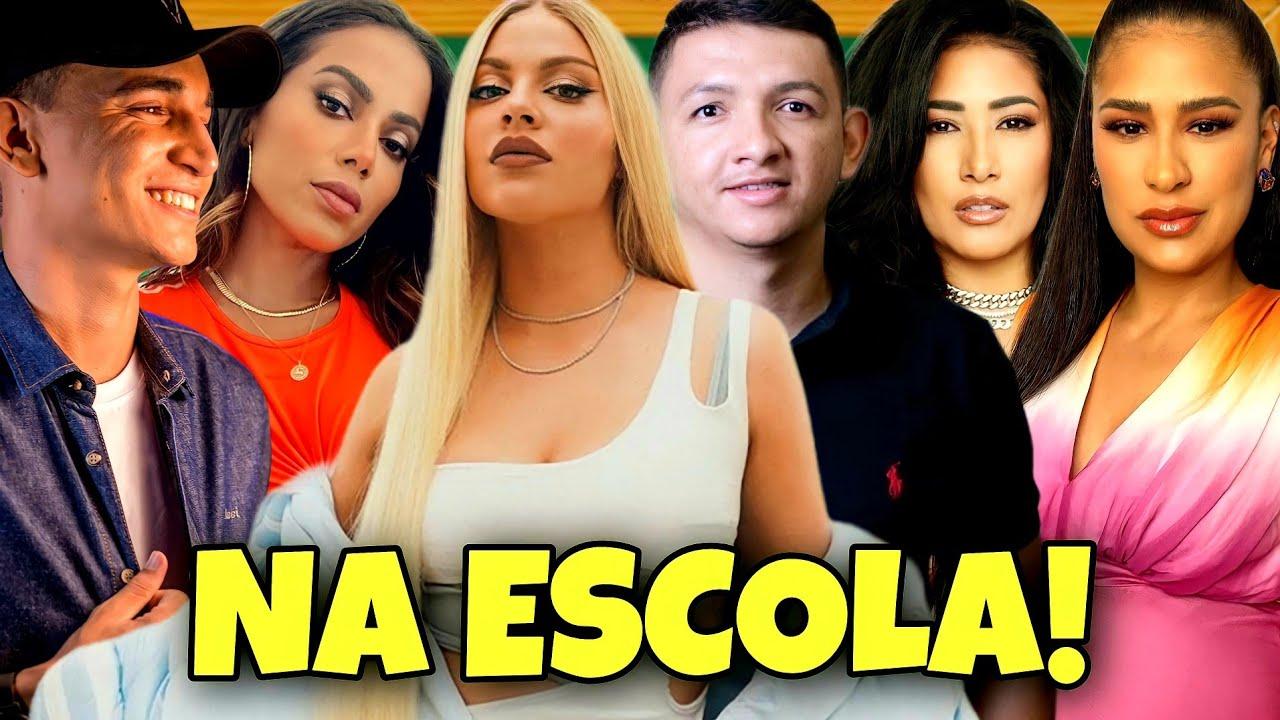 LUÍSA SONZA, MARCYNHO SENSAÇÃO, ANITTA, JOÃO GOMES E SIMONE E SIMARIA NA ESCOLA!